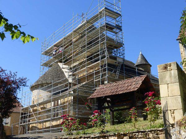 Restauration de l'église de Veyrignac