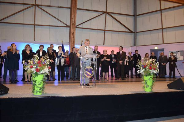 Discours de la Cérémonie des Voeux 2016 de Vaujours, le lundi 18 janvier 2016