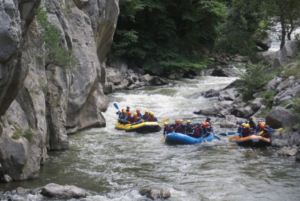 Rafting Sportif Gorges Pierre Lys cl III, cl IV