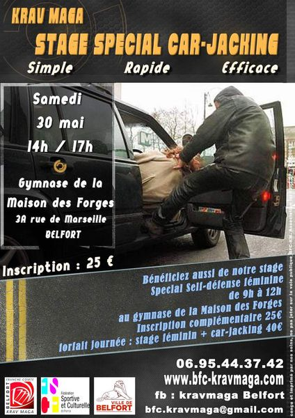 30-05-2015 Défense contre Car-Jacking !