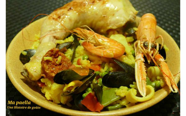 Ma paella - Battle food #37
