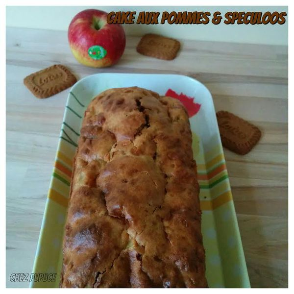 Cake aux pommes &amp&#x3B; speculoos