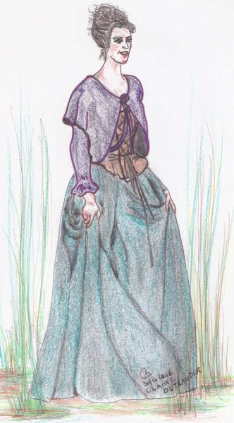 OUtlander Claire #3