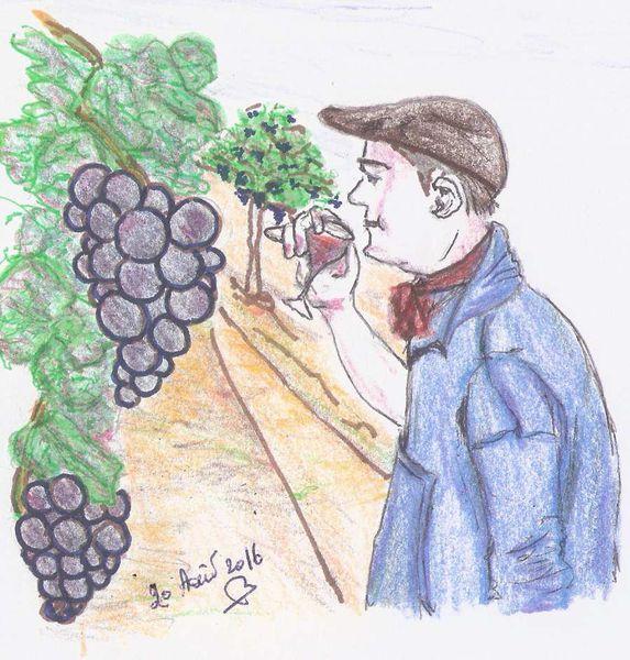 Un bon verre de Vin:
