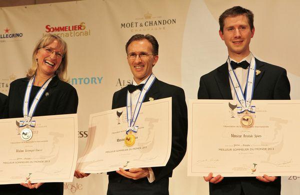 Véronique Rivest, Paolo Basson et Aristide Spies étaient finalistes au Japon, en 2013. © Jean Bernard