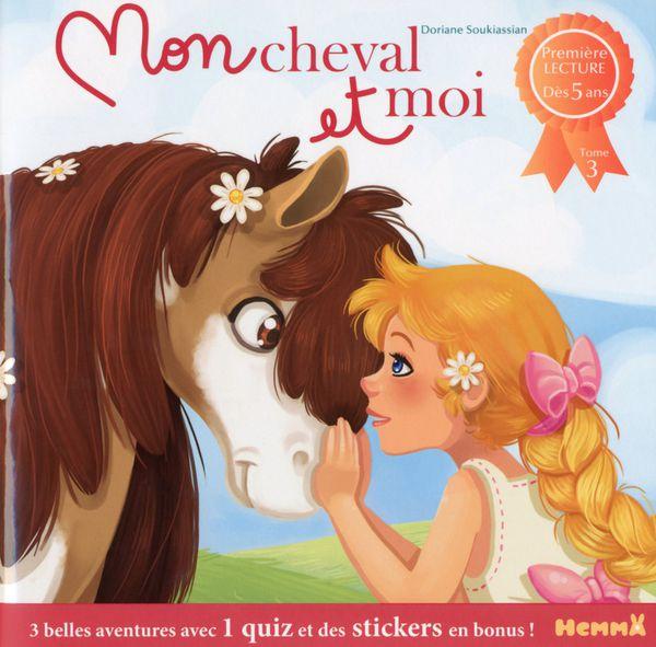 Nouvelles Parutions : &quot&#x3B;Mon cheval et moi&quot&#x3B; Hemma, &quot&#x3B;Je découvre les verbes en images&quot&#x3B; Auzou