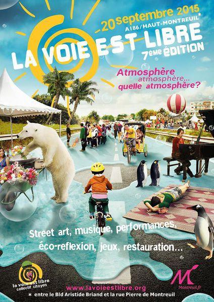 Bouq'Lib' à La Voie est Libre - dimanche 20 septembre
