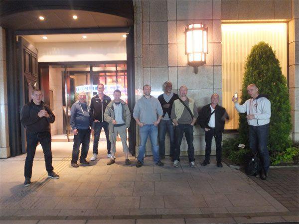 22 avril : Fukuoka, dernier diner au restaurant