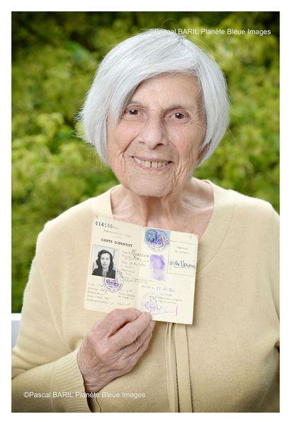Colette Ulmann résistante du réseau de l'Hôpital Rothschild. Télé Star cette semaine...