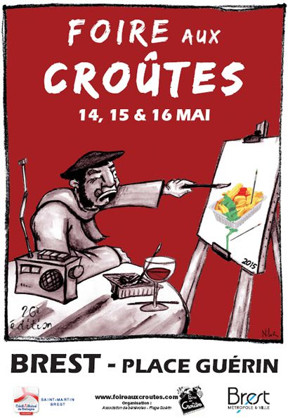 26 ème foire aux croûtes à Brest