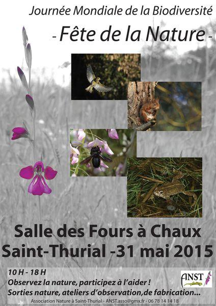 Fête de la nature : 31 mai 2015