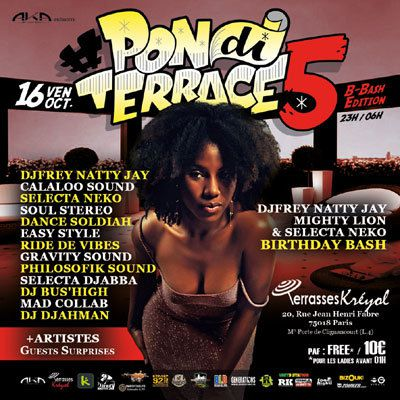 PON DI TERRACE #5 - 16 OCTOBRE 2015