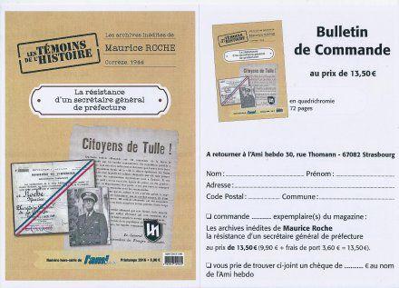 La résistance d'un secrétaire général de préfecture - Les archives inédites de Maurice Roche, Corrèze, 1944