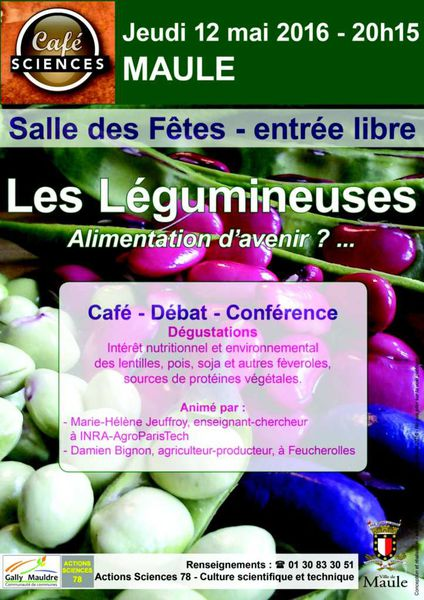Café Sciences à Maule