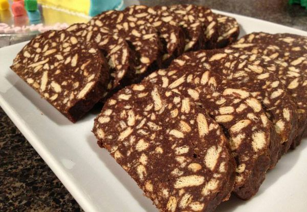 Salami &quot&#x3B; Chocolat _ Biscuit&quot&#x3B;