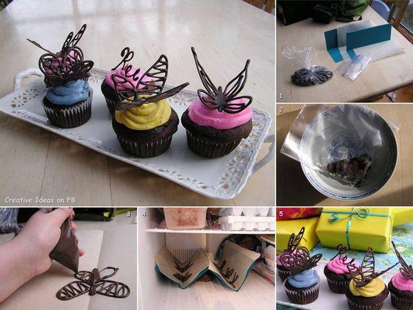 idée décorative pour vos cupcakes