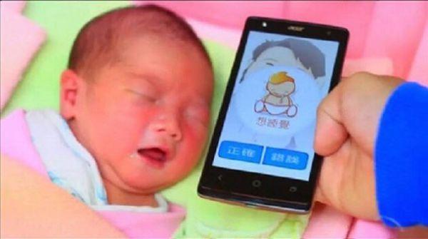 Plus besoin de deviner ce que votre bébé veut: «Traducteur Baby 'application peut décoder ce que signifie réellement leurs pleurs