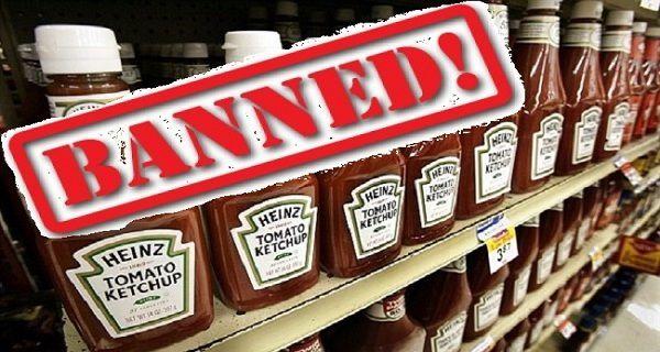 Heinz Ketchup interdit (et pourquoi vous devriez éviter)