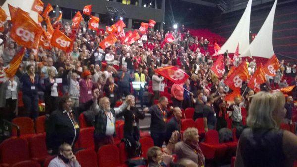 #CGT #CONGRES - LES CAMARADES DE LA CSD DES #YVELINES