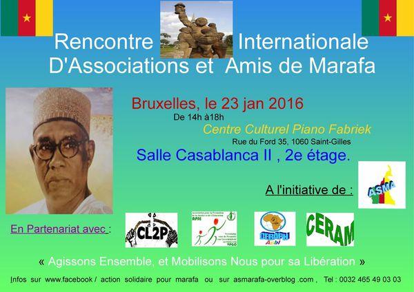 Belgique- Cameroun Diaspora: Une rencontre internationale des amis de Marafa Hamidou Yaya prévue à Bruxelles le 23 janvier prochain