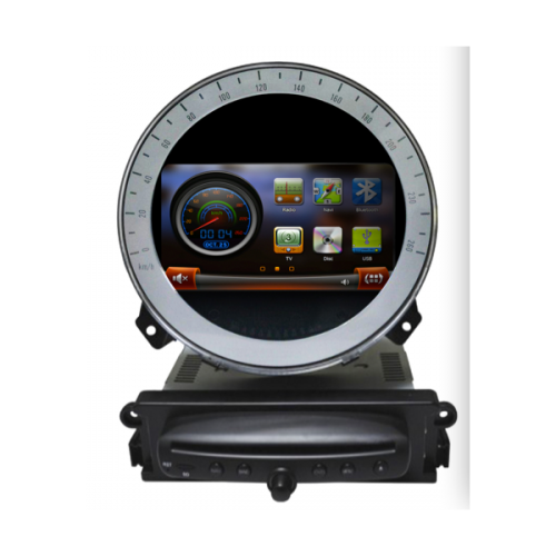 bmw mini cooper poste autoradio dvd gps avec cran tactile fonction bluetooth tv sd usb gps. Black Bedroom Furniture Sets. Home Design Ideas