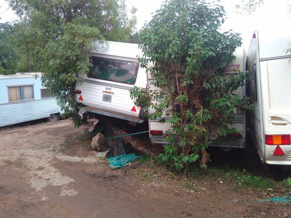 Quand une caravane est sinistrée par les inondations...