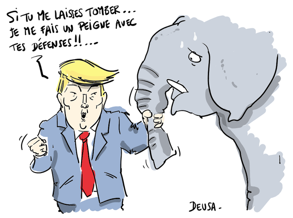 AN ELEFANT, ÇA TRUMP ENORMEMENT