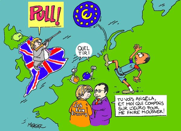 BREXIT : Boris JOHNSON flingue l'Europe !