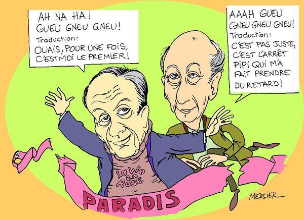 Hommage de VGE à Michel ROCARD