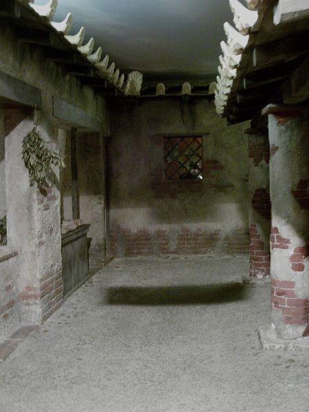 Reconstitution d'une rue romaine et d'une domus.