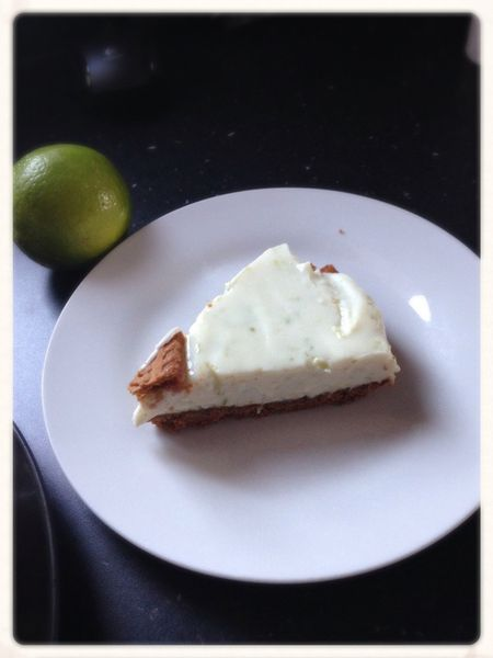Cheesecake Citron Vert Speculoos