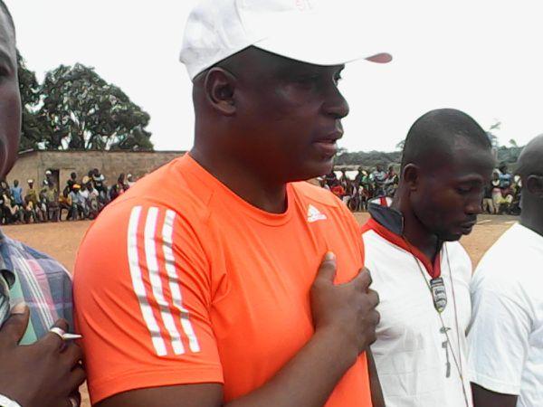 Avant le match d'ouverture. Toujours pour la Côte d'Ivoire