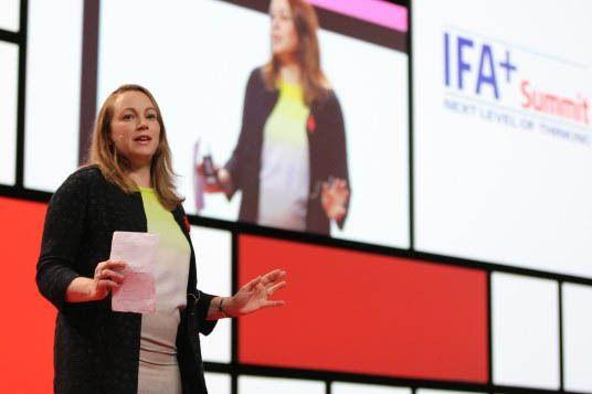 Berlin : Axelle Lemaire veut doper les startups européennes.