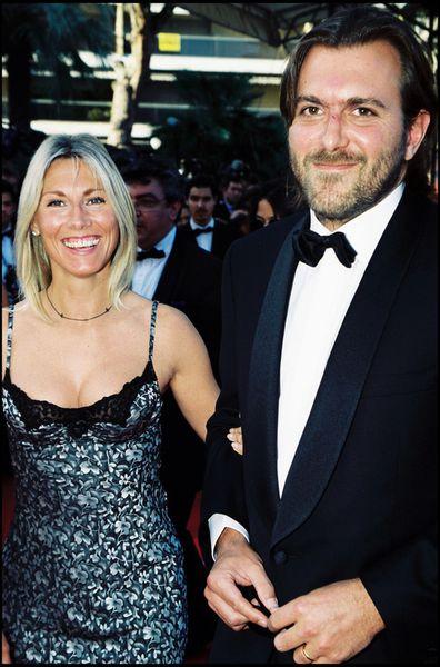 Christophe Lambert et Marie Sara au Festival de Cannes en 2000 . CopyRght Best