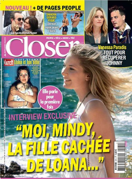 Loana réagit à l'interview de sa fille et remercie Closer