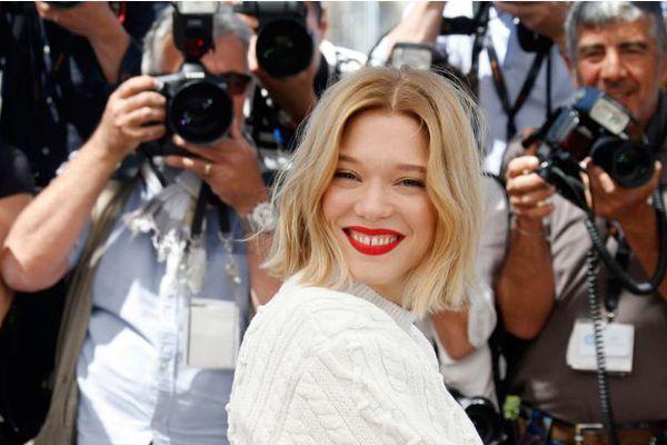 Léa Seydoux au Festival de Cannes crédits photo : Régis Duvignau / Reuters
