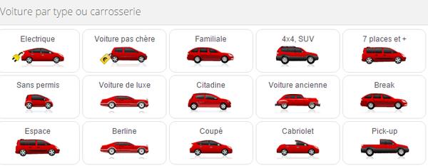 Découvrez divers modèles de voitures via l'application Android Paruvendu