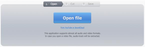 Découpeur MP3 ou le son d'un fichier vidéo en Ligne