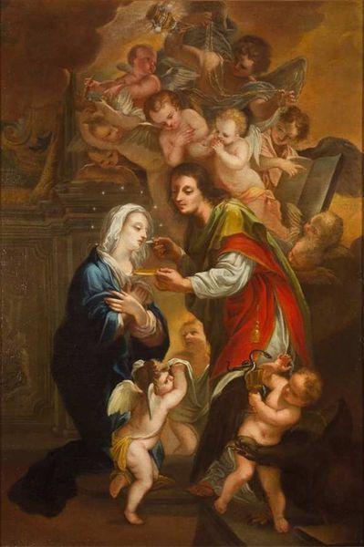 Troisième moyen de soulager les âmes du purgatoire : la Sainte communion.