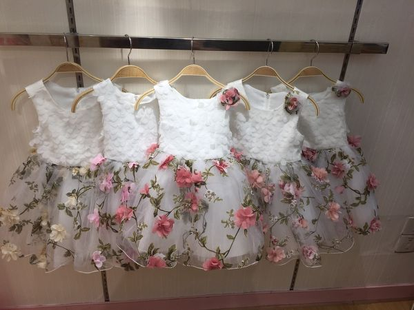 Amazing collection of princess wedding dresses for girls children fashion styles and unique Fashions designs specially for childrens clothes ages 1 to 12 yrs.