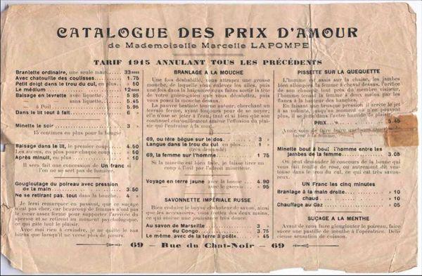 NICOLE CANET – MAISONS CLOSES 1860 – 1946