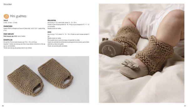 modèles gratuits tricot bébé