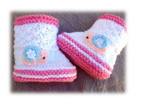 chaussons bébé modèle fille