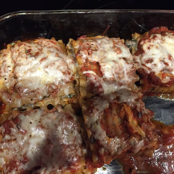 21 Day Fix Lasagna Roll Ups