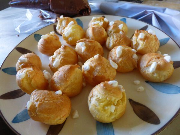 Pate à choux sucrée