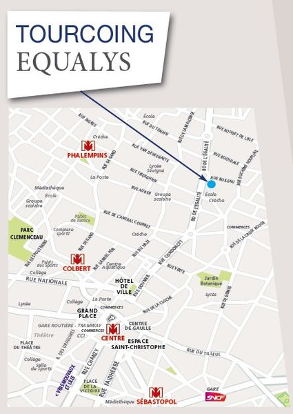Tourcoing (59200) - Equalys