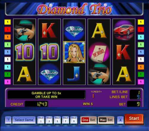 Diamond Trio slot game review