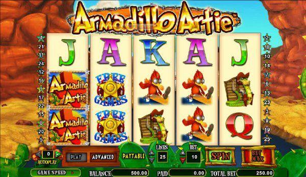 Free Armadillo Artie slot review