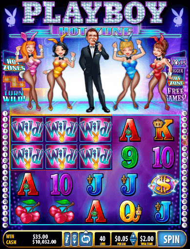 Playboy Hot Zone free slot review
