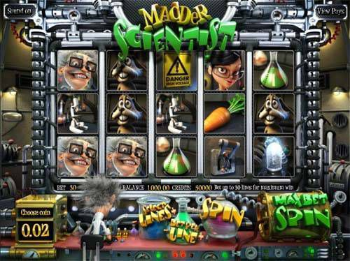 Madder Scientist free slots review